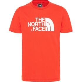 The North Face Easy Camiseta Manga Corta Niños, fiery red/tnf white